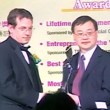 KingTiger Won ACCE 2008 Best International Business Award